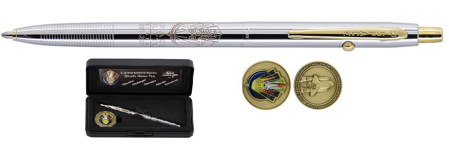 Fisher Space Pen Shuttle Commemorative Edition & Coin Set