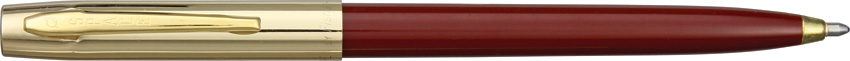 Fisher Space Pen Apollo Maroon/Gold
