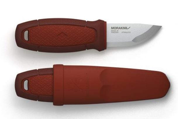 Mora Eldris 01757 Mini Fixed Knife - Red (Online Only)