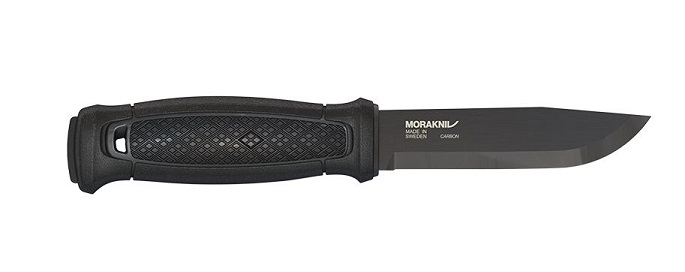 Mora Garberg Fixed Blade Carbon Steel Black- Multi Mount Sheath