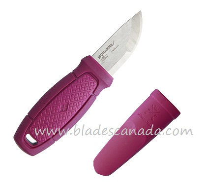 Mora Eldris Mini Fixed Knife - Aubergine