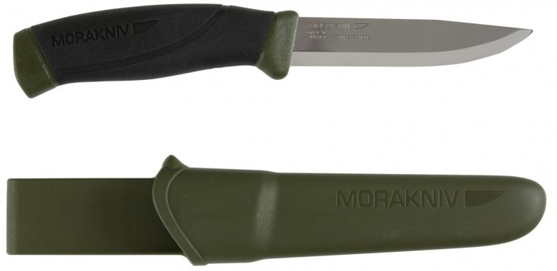 Mora 10142 Companion MG Stainless - OD Green (Online Only)