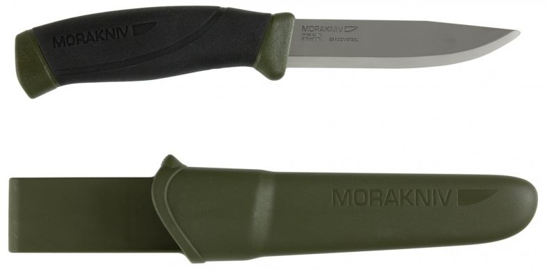 Mora 10258 Companion MG Carbon - OD Green
