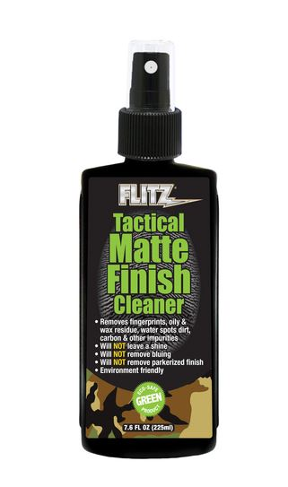 Flitz Tactical Matte Finish Cleaner 225mL