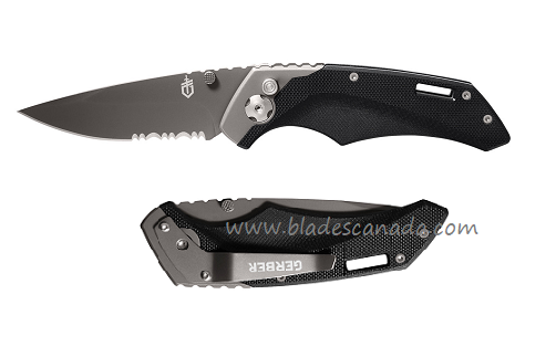 Gerber Contrast Assisted Open w/ Serrated 784 (Online Only)