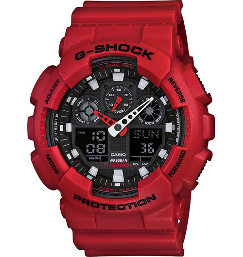 G Shock GA100B-4A X Large Series