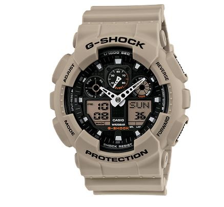 G Shock GA100SD-8A Military Sand Series - Beige
