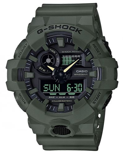 G Shock GA700UC-3A Utility Color Series