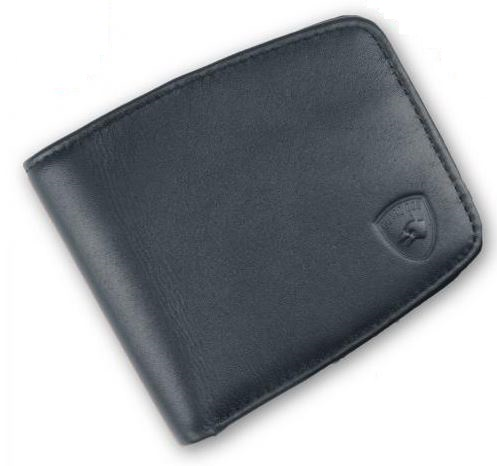 Guard Dog 6400 RFID Compact Leather Wallet - Black