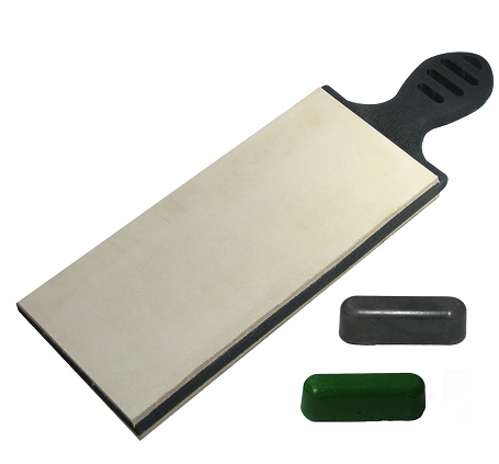"Garos Goods Bolo Edge 3"" Double Sided Paddle Strop"