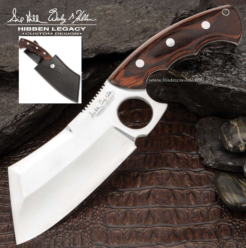 UC Gil Hibben Legacy Cleaver w/Sheath, GH5085 (Online Only)