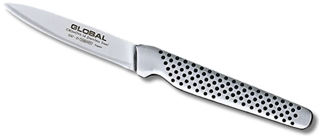 "Global GSF-31 3"" Large Handle Peeling Knife (Online Only)"