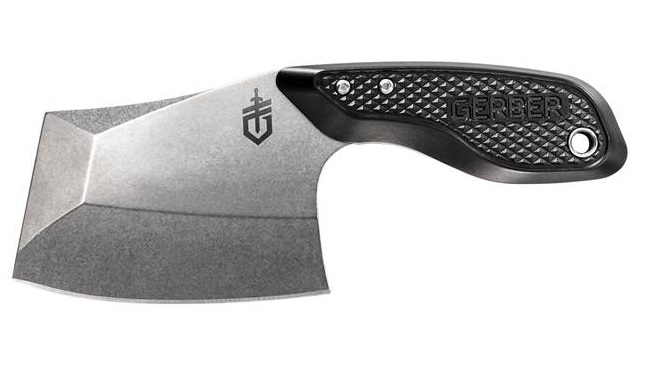 Gerber Tri-Tip Mini Cleaver w/ Multi-Mount Sheath - Black (Online)