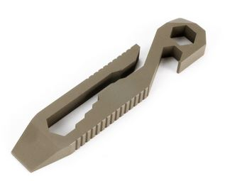Griffin Pocket Tool Original Stainless Steel - Flat Dark Earth