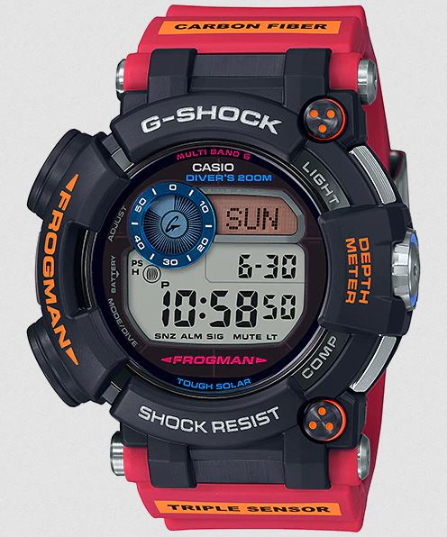 G Shock GWF-D1000ARR-1 Master of G Frogman - Arctic Research ROV Edition
