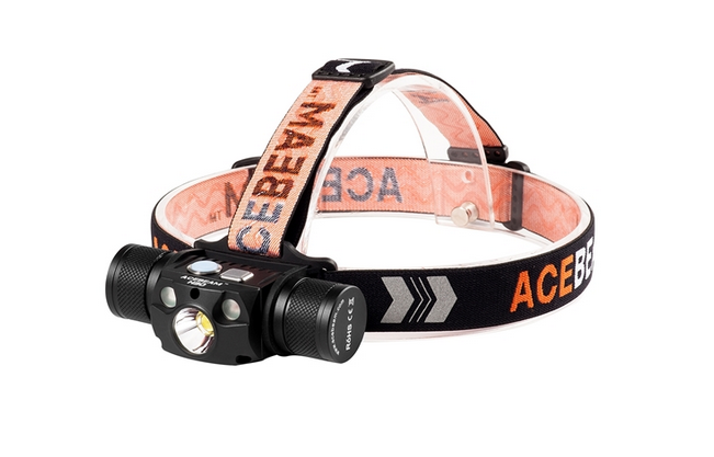 Acebeam H30 Headlamp W/Red and Green, Neutral White - 4000 Lumen