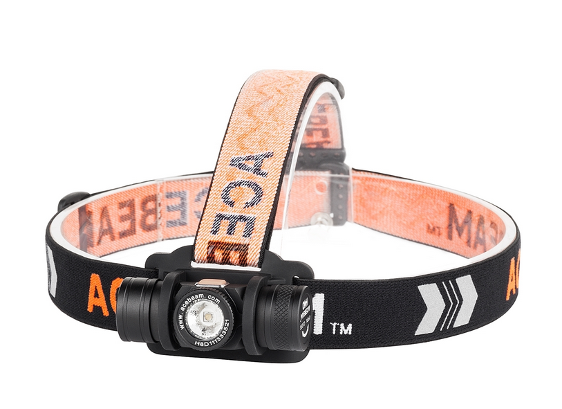 Acebeam H40 Headlamp Cool White - 350 Lumens [1050 Turbo] (Online Only)