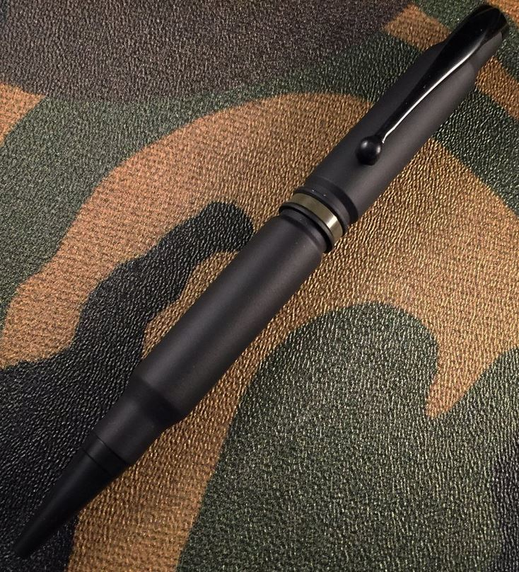 High Caliber 308 Thin Green Line Pen