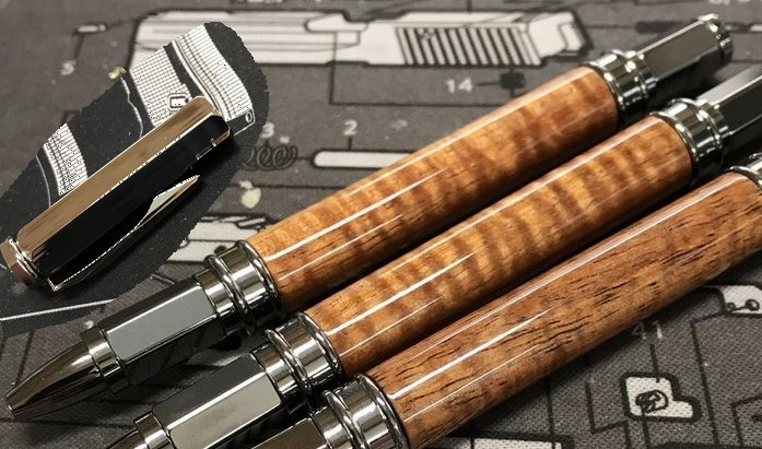 High Caliber Koa Wood Rollerball