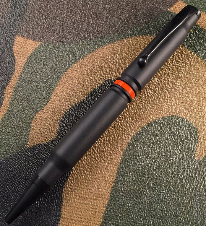 High Caliber 308 Thin Orange Line Pen