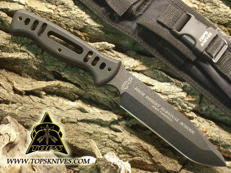 TOPS HDSK01 High Desert Survival Knife w/Ballistic Nylon Sheath