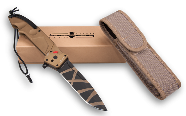 Extrema Ratio HF2DDW Drop Point Folder - Desert Warfare