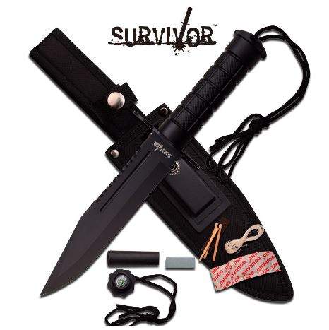 Master Survivor HK786BK FB w/Nylon Sheath (Online Only)