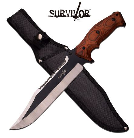 Master Survivor HK795BW FB w/Nylon Sheath (Online Only)