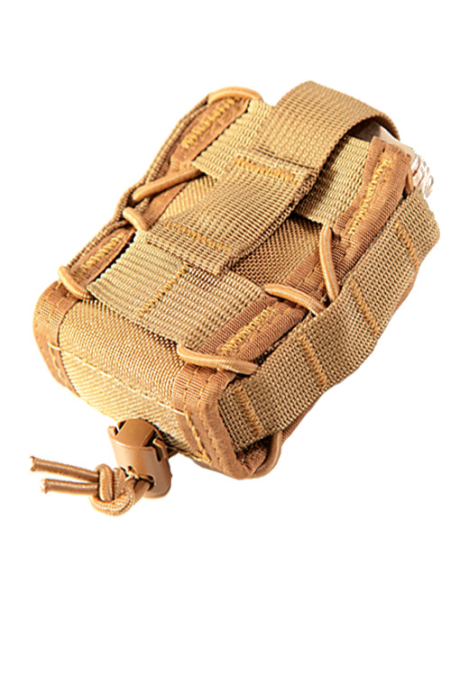 High Speed Gear 11DC00CB Handcuff Taco MOLLE - Coyote Brown