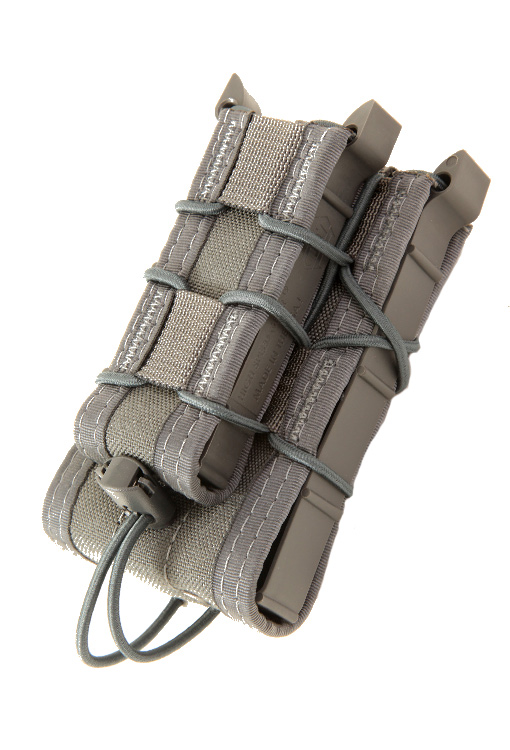 High Speed Gear 11DD00WG Double Decker Taco MOLLE - Wolf Grey