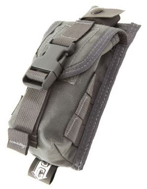 High Speed Gear 12BP00WG Bleeder Blowout Pouch MOLLE - Wolf Grey