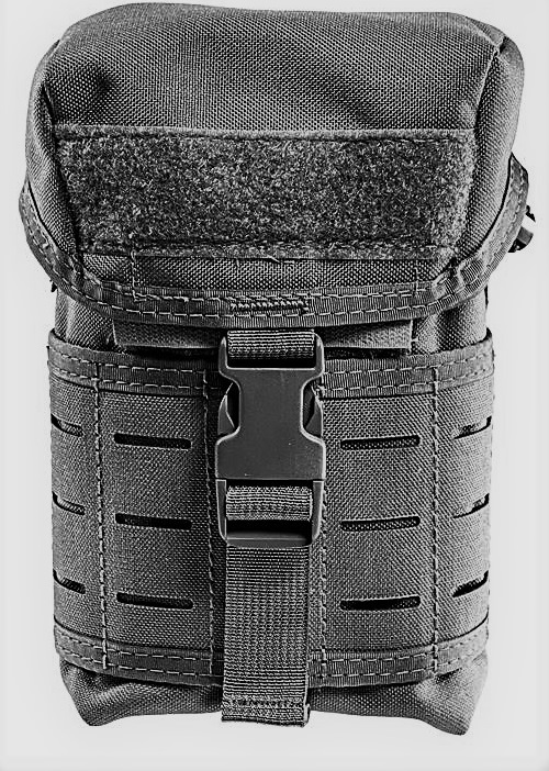 High Speed Gear 12CP01BK Canteen Pouch - MOLLE - Black