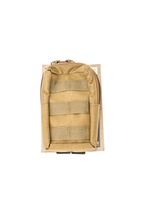 High Speed Gear 12RP00CB Mini Radio/Utility Pouch MOLLE- Coyote