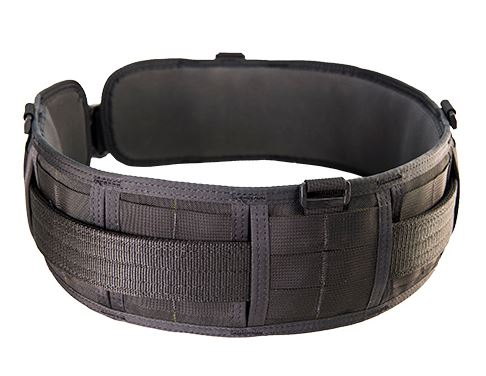 High Speed Gear 33PB00BK Sure-Grip Padded Belt Slotted - Black