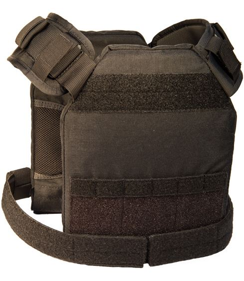 High Speed Gear 40LPC1BK SPC Slick Plate Carrier - Black