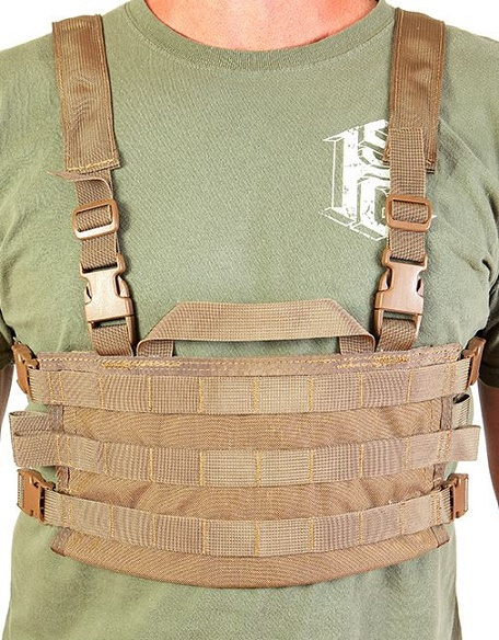 High Speed Gear 40SCR1CB AO Chest Rig - Coyote