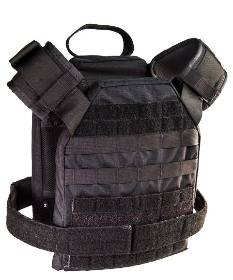 High Speed Gear 40SPM1BK SPC Slick Plate Carrier Bravo - Black