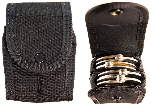 High Speed Gear 41DC02BK Duty Series Double Handcuff Pouch-Black