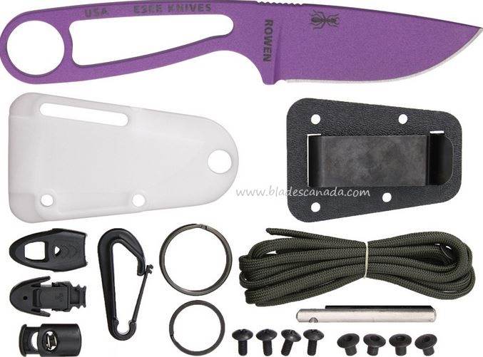 ESEE Izula Knife - Purple with Kit (Online Only)