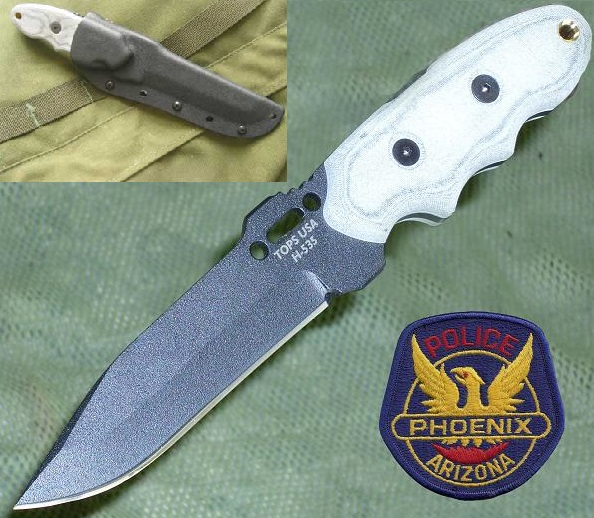 TOPS INT331 Interceptor #331 Police Utility w/Kydex Sheath