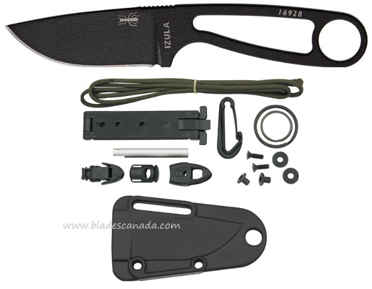 ESEE Izula - Black with KIT