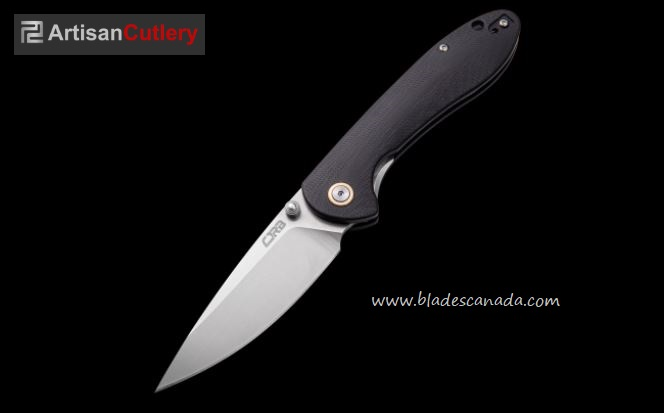 CJRB Knives Feldspar Folder, D2 Steel, G10 Black, J1912BKC