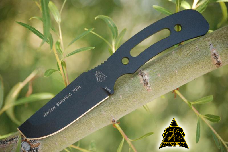 TOPS JST01 Jensen Survival Tool w/Kydex Sheath (Online Only)