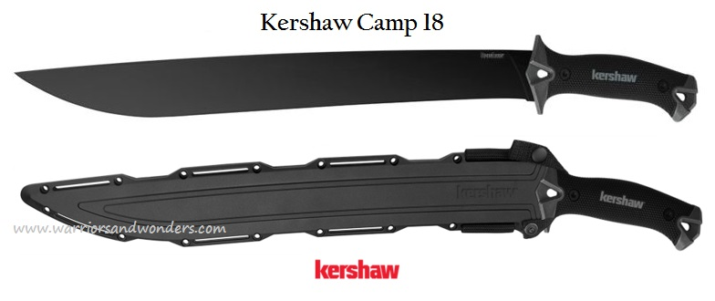 Kershaw 1074 Camp 18 w/ Molded Sheath