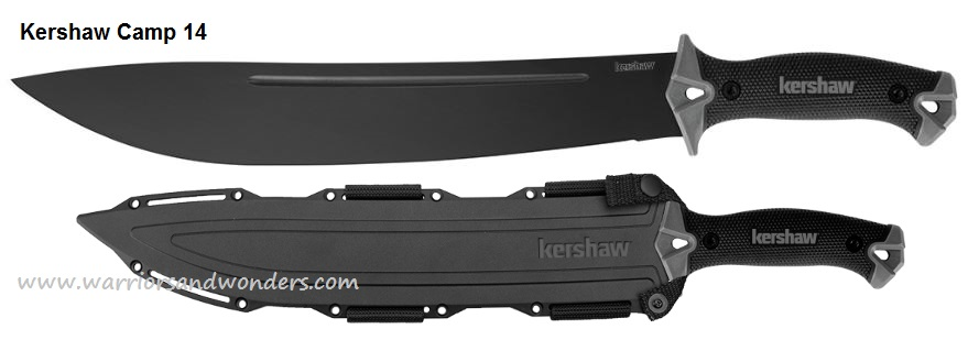 Kershaw 1076 Camp 14 Machete w/Sheath