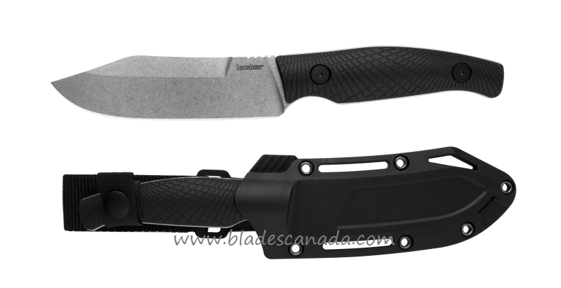 Kershaw 1083 Camp 5 D2 Steel with Nylon Sheath