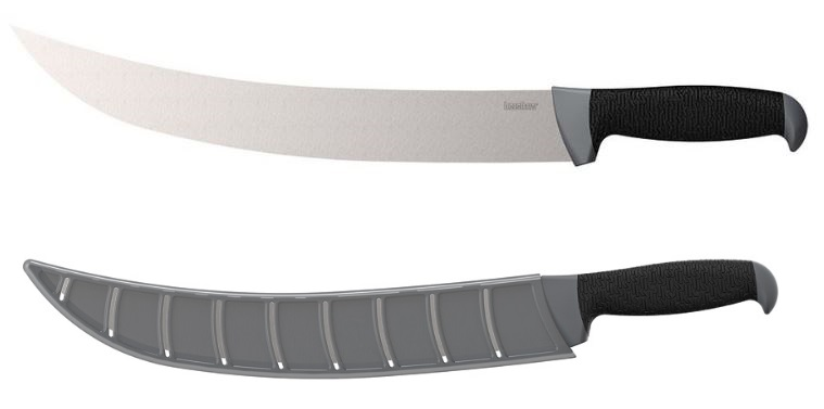 "Kershaw 1241 12"" Curved Fillet Knife w/ Blade Cover (Online Only"