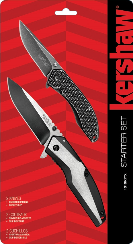 Kershaw 1316KITX Starter Series Value Pack (Online Only)