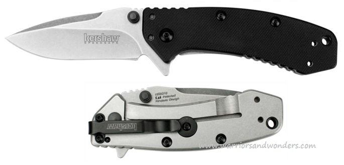 Kershaw 1555G10 Cryo Hinderer Assisted G10 Handle (Online Only)