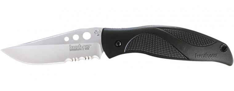 Kershaw 1560ST Whirlwind Partially Serrated Assisted Opening